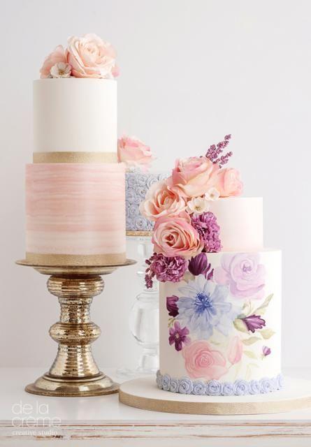 torte nuziali dipinte