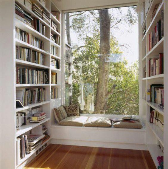 Angoli lettura e relax in casa