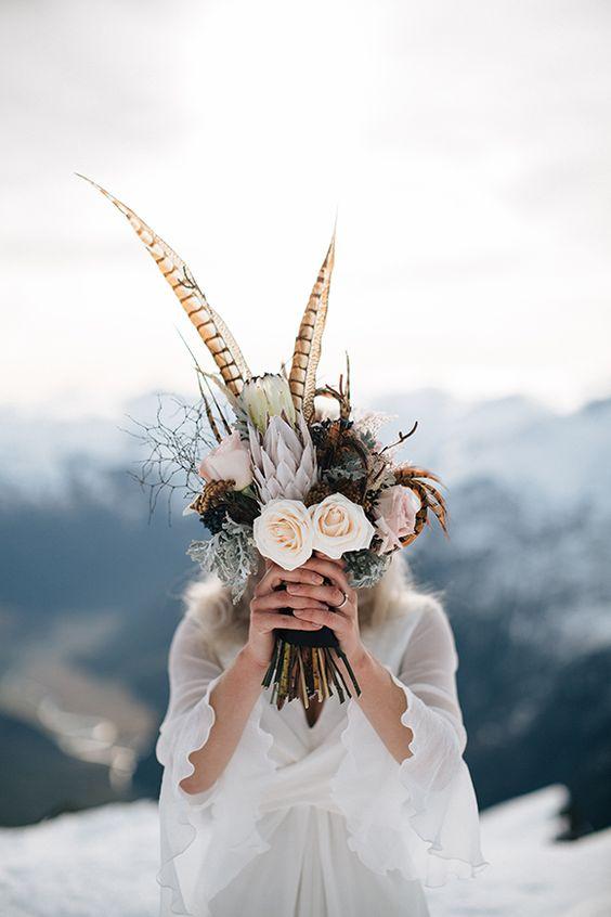 Bouquet sposa per l'autunno