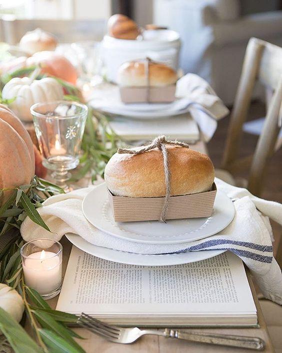 Decorare la tavola in autunno