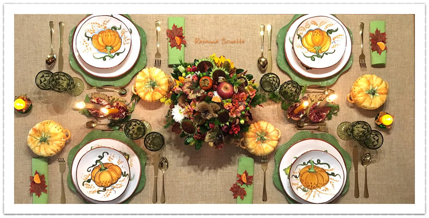 Speciale: una tavola di Halloween rustic-chic