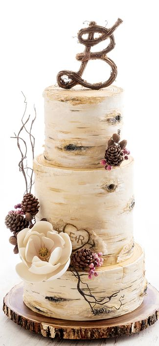 wedding cake autunnali