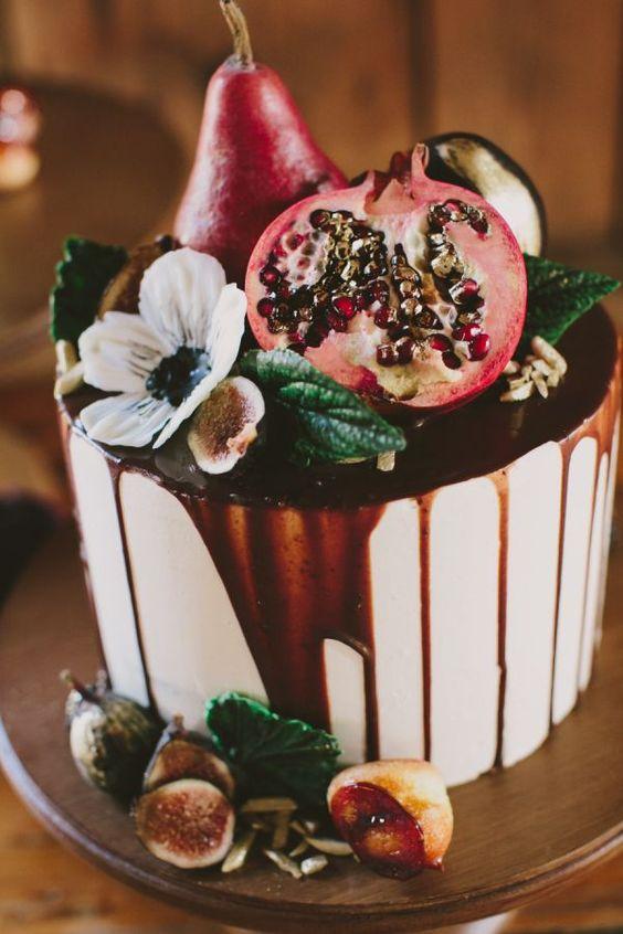 wedding cake autunnali