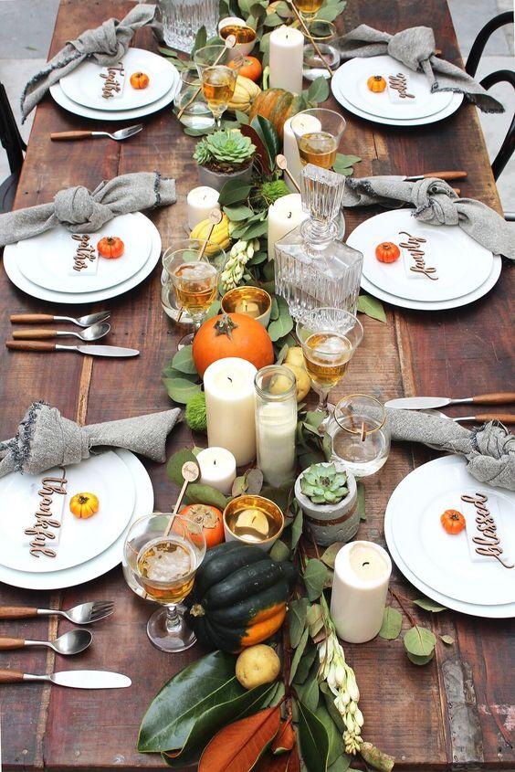 Arte della tavola: altre tradizioni - Il Thanksgiving