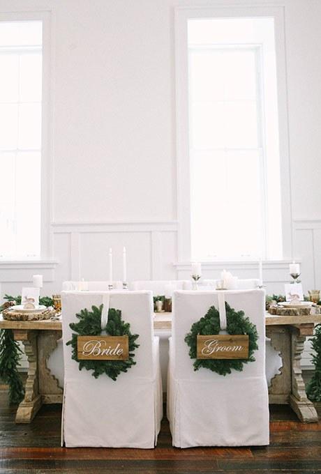 Ispirazioni per il matrimonio invernale
