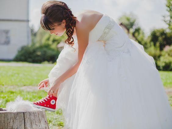 converse donna sposa