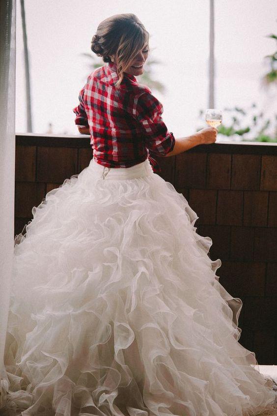 Gli stili della sposa: la sposa d'inverno