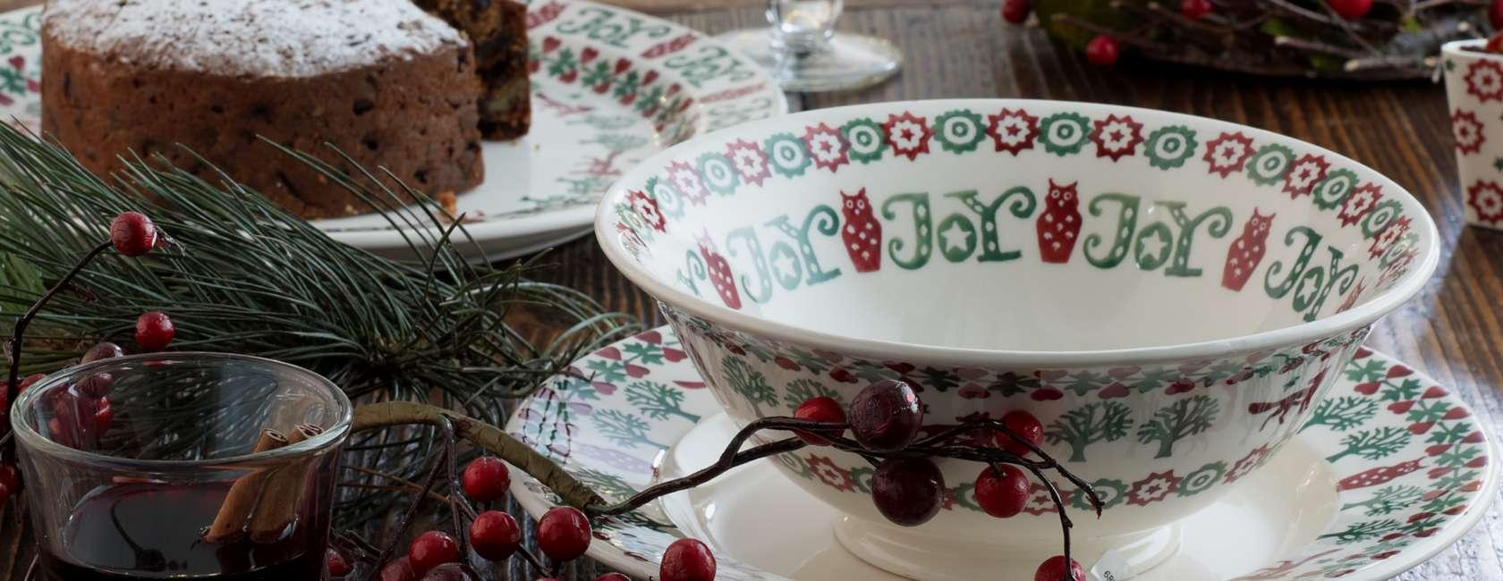 Regali di Natale: pottery e mug firmate Emma Bridgewater