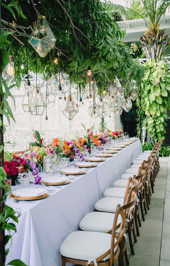 Le mise en place wedding più belle viste nel 2018