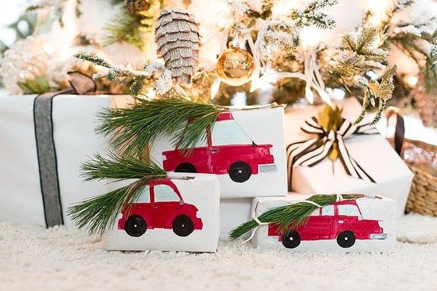 Pacchetti di Natale creativi