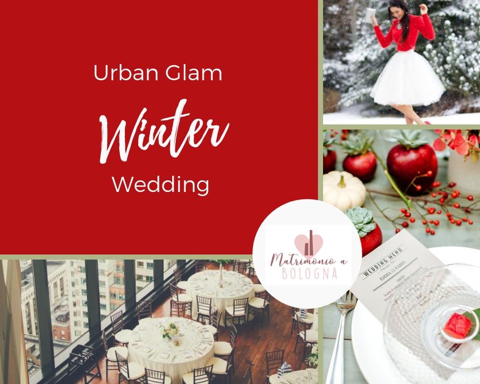 moodboard per il matrimonio invernale