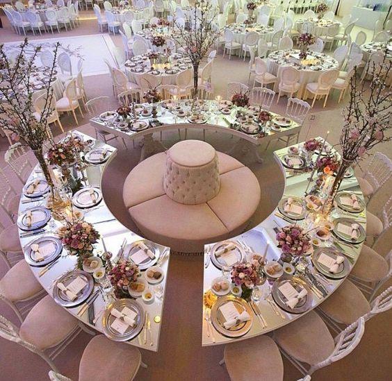 Tavoli per le nozze