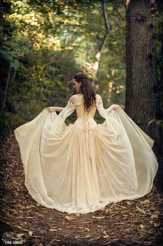 Gli stili della sposa: la sposa fantasy