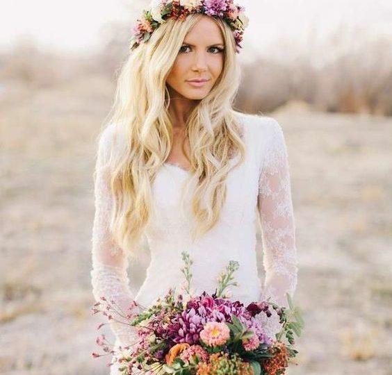 1b11ee676737 Gli stili della sposa  la sposa boho chic - Matrimonio a Bologna Blog