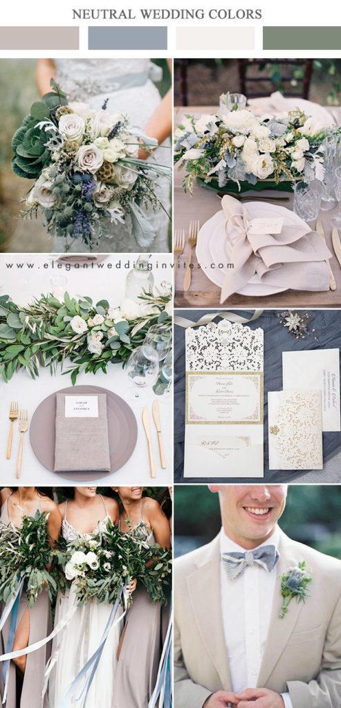 Matrimonio In Azzurro Polvere : Palette di colori neutri per il matrimonio matrimonio a