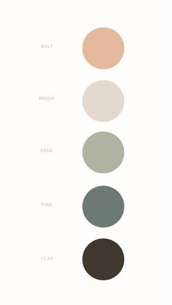 7 palette di colori neutri per il matrimonio