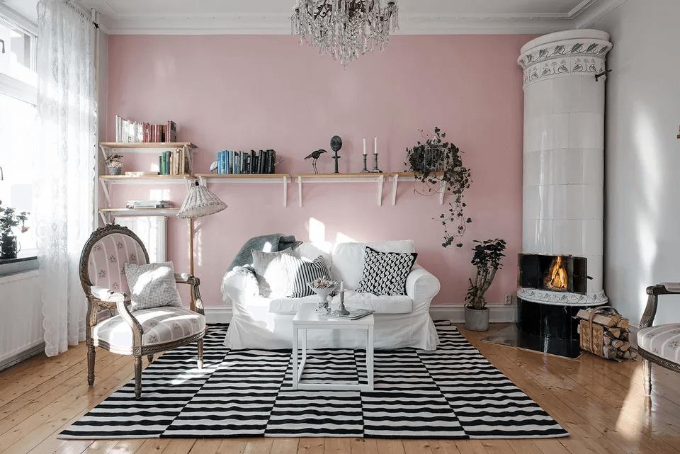 Arredare il salotto con i colori