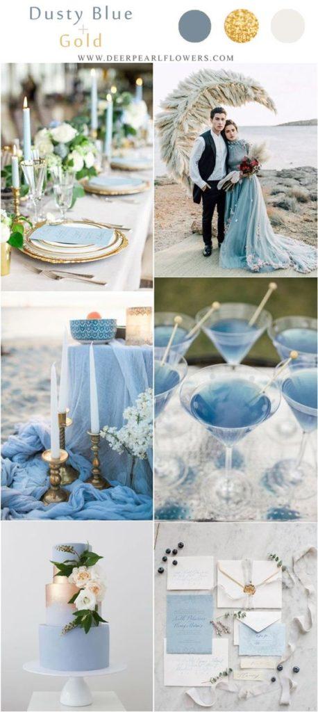 palette di colori più belle per il matrimonio estivo