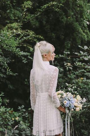 la sposa vintage anni '70