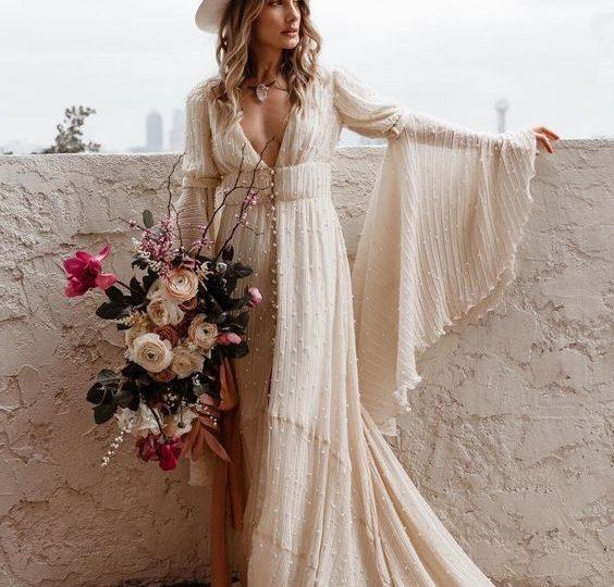 Bouquet Sposa Anni 70.Gli Stili Della Sposa La Sposa Vintage Anni 70 Matrimonio A
