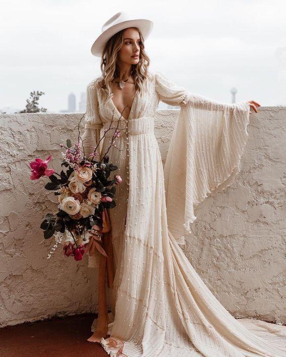 Gli stili della sposa: la sposa vintage anni '70