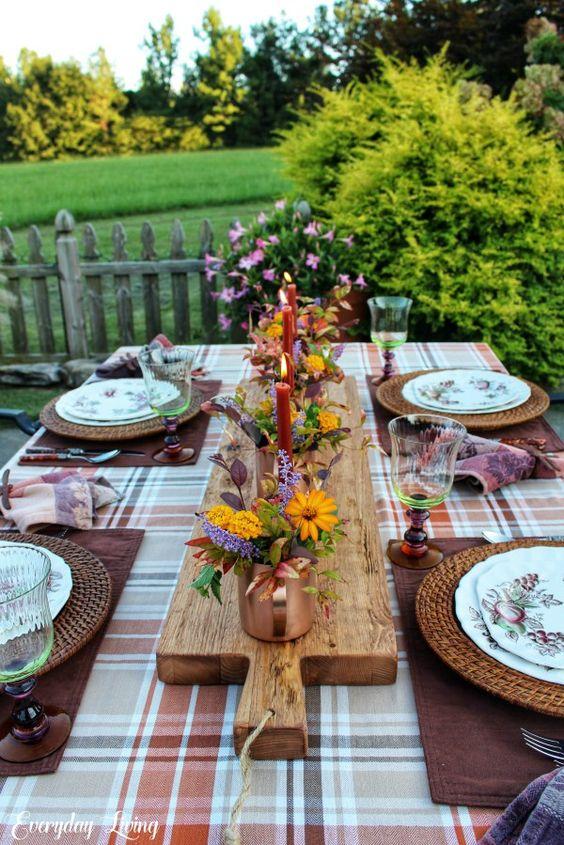 la tavola d'autunno