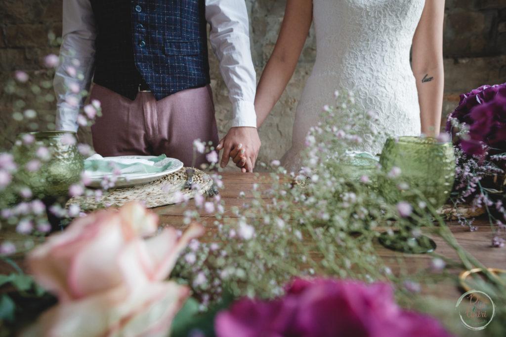 un matrimonio di ispirazione contadina