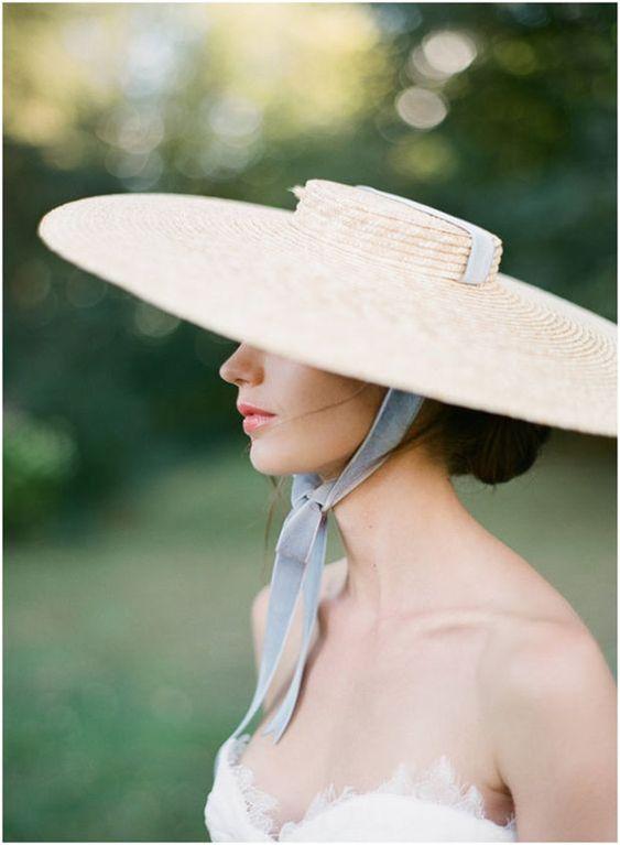 Il cappello per la sposa