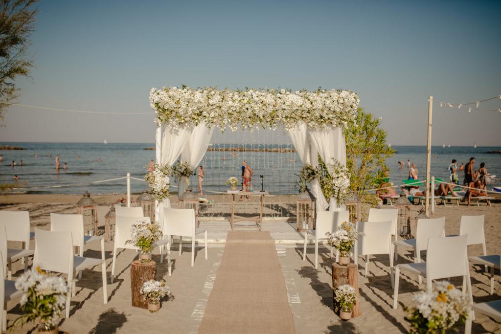Un matrimonio in riva al mare