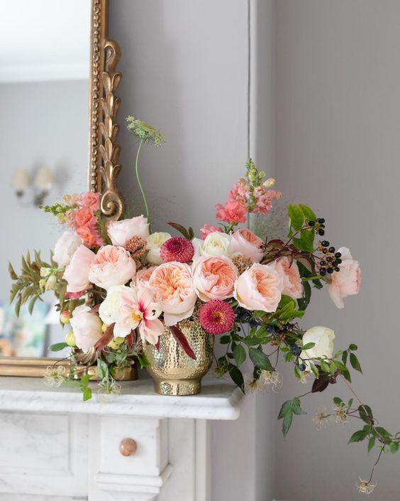 Le rose inglesi per l'autunno