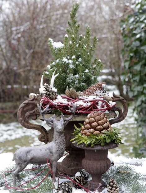 Decorazioni di Natale per l'esterno