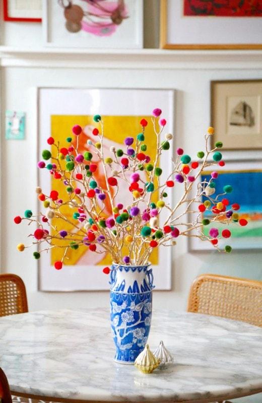 6 idee per decorare la casa con i rami