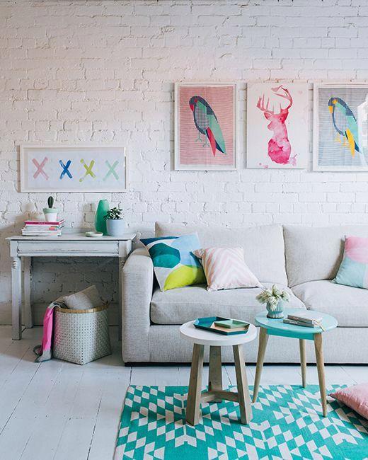Decorare la casa con i colori pastello